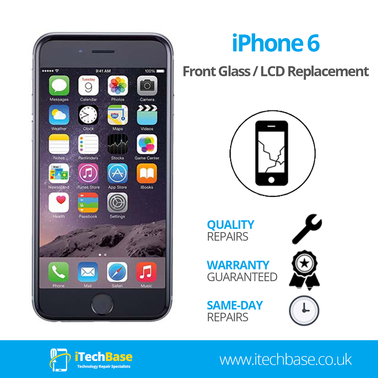 Apple iPhone 6 Screen Replacement Service