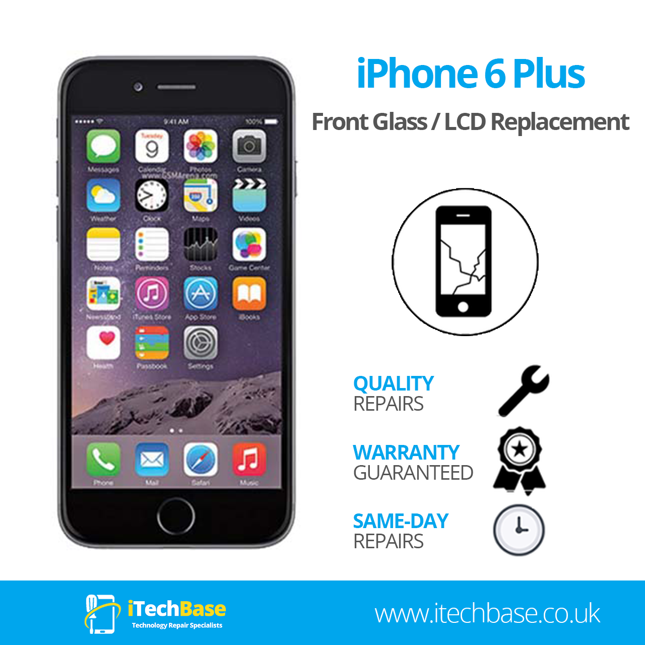 Apple iPhone 6 Plus Screen Replacement Service