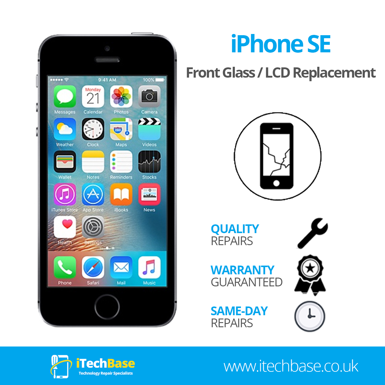 Apple iPhone SE 2016 Screen Replacement Service