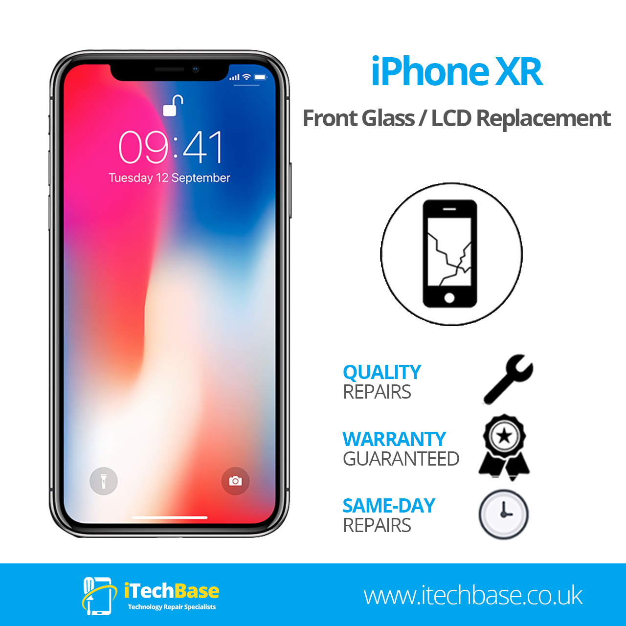 Apple iPhone XR Screen Replacement Service