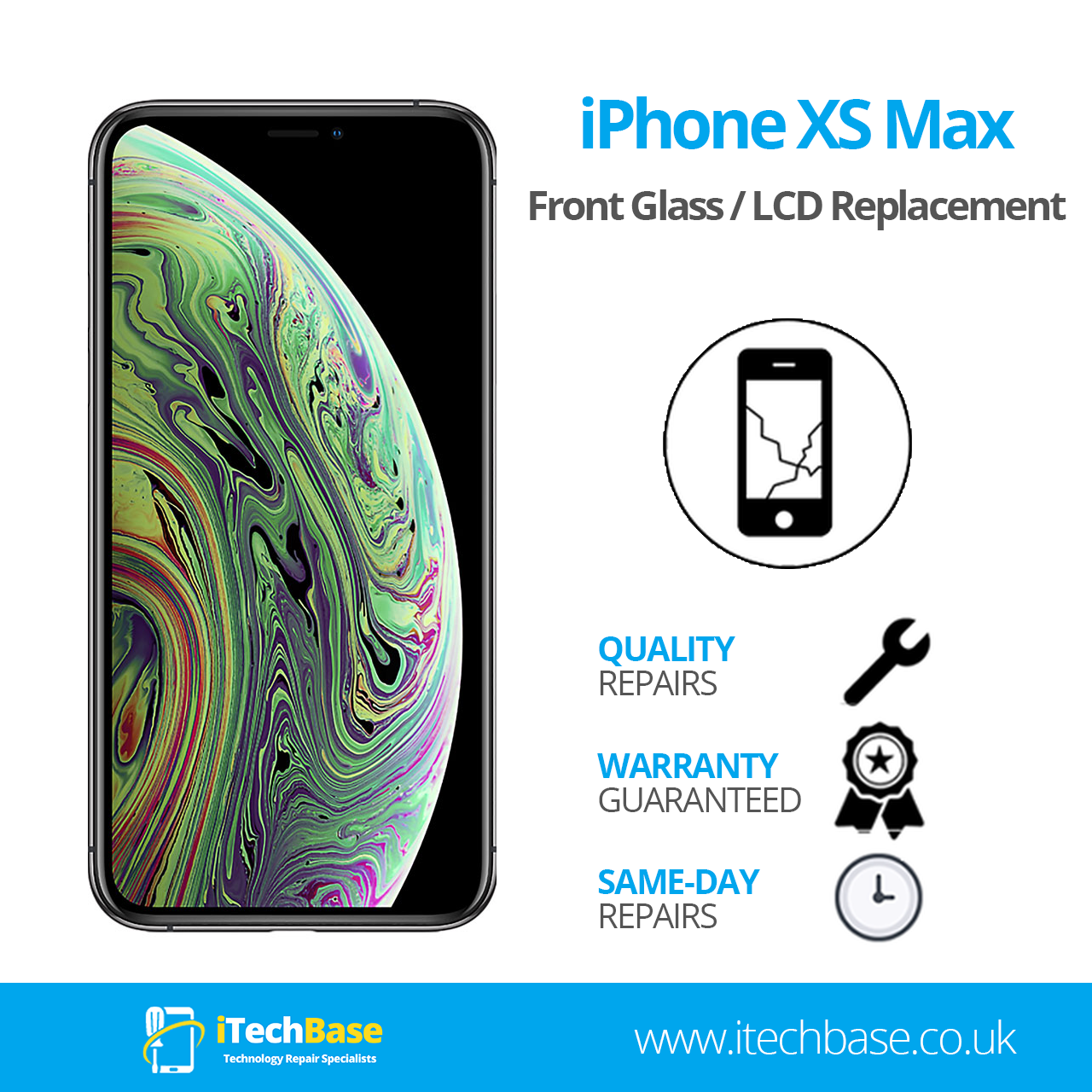 Apple iPhone XS Max Screen Replacement Service